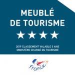 Meublé de tourisme 4 étoiles - 2019